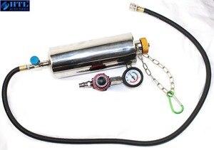 Image 3 - Kit de nettoyage et testeur dinjecteur de carburant sans démontage automobile avec étui pour voitures à essence EFI, réservoir 750ML, 145PSI