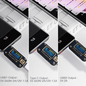 Image 3 - YKZ QC 3.0 بنك الطاقة 10000mAh LED شاحن خارجي بطارية Poverbank PD شحن سريع 12 فولت Powerbank آيفون شياو mi mi