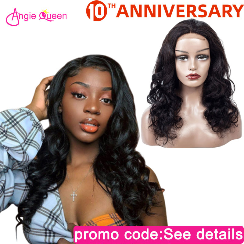 Body Wave Lace Front Human Hair Wigs Closure Wig Human Wigs 150% Lace Wigs Indian Human Hair Wigs Remy Hair 4*4 Lace Closure Wig