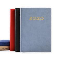 А5 кожаный блокнот винтажный дневник руководство высокого класса ПУ календарь тетрадь школа планирования канцелярские принадлежности