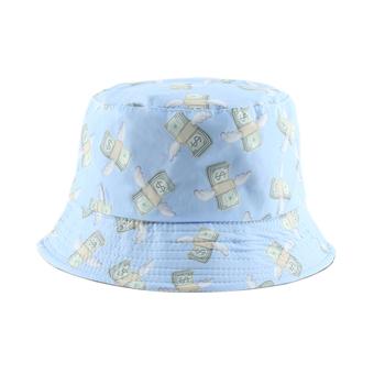 2020 nowy dolar drukuj odwracalny kapelusz typu Bucket Bob Chapeau Femme kapelusz rybaka mężczyźni wiadro wędkarskie kapelusz typu Bucket s odkryty Casquette tanie i dobre opinie furandown COTTON Dla dorosłych Unisex Mieszkanie Bucket H262 Wiadro kapelusze Na co dzień reversible sun protection for head 55-58cm