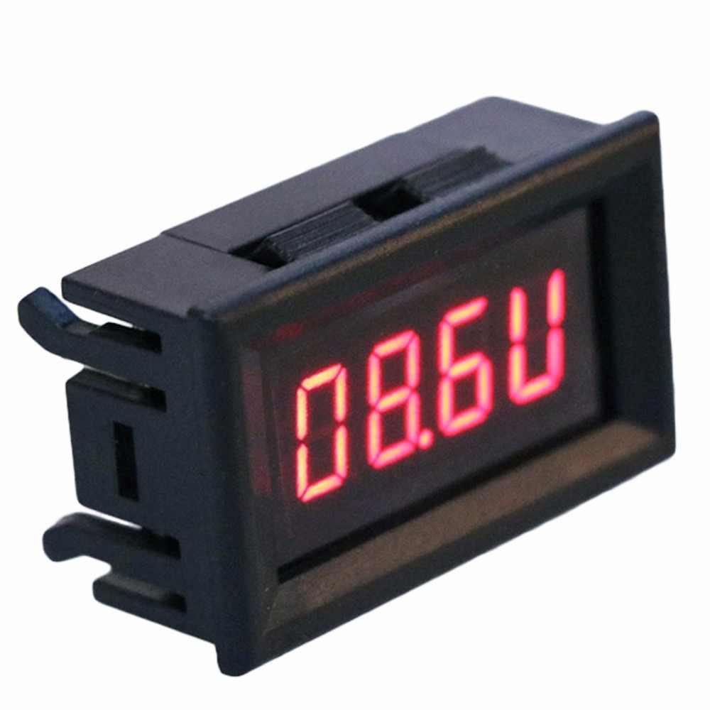 ดิจิตอล RPM โวลต์มิเตอร์ 2 in 1 LED TACHOMETER Gauge เครื่องทดสอบแรงดันไฟฟ้าเครื่องมือสำหรับ Auto มอเตอร์หมุนความเร็ว