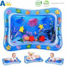 Животик время ребенка водяное сиденье игрушки для младенцев надувной игровой коврик для 3 6 9 месяцев новорожденный мальчик девочка игровой коврик Детские развивающие игры