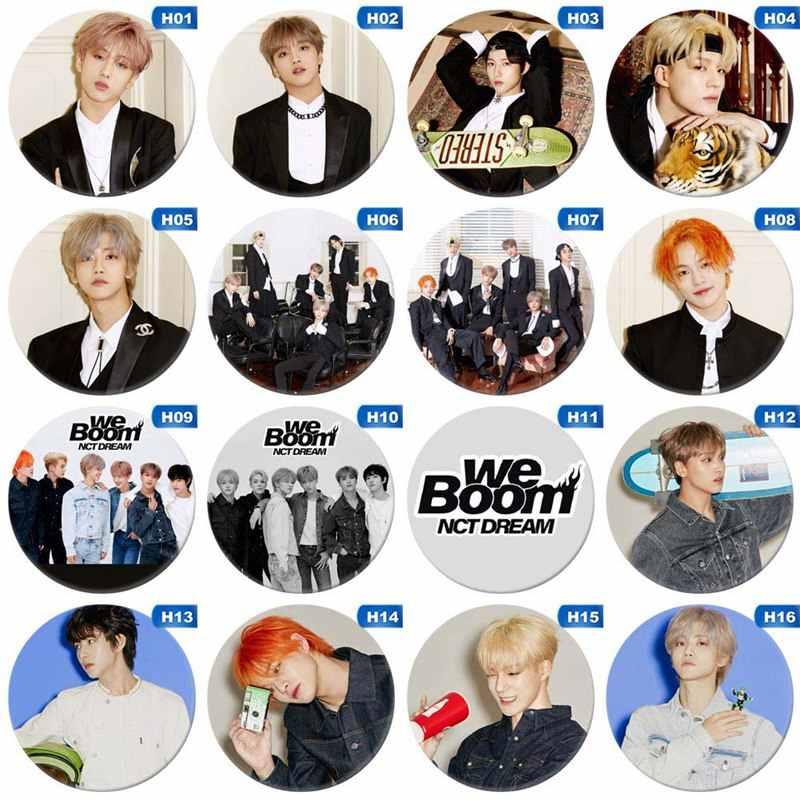 Korea Kpop NCT NCT127 Album Bros Pin Lencana Aksesoris untuk Pakaian Topi Ransel Dekorasi