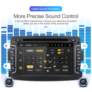 Image 2 - Rádio automático android 10 do ruído 1 para dacia/sandero/espanador/renault/captur/lada/xray 2/logan 2 reprodutor multimídia do carro gps dsp dvr