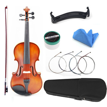 TONGLING Brand Matte paint Hand Made Violin Professional Stringed Instruments Maple Wood Antique Violin Violino 1/8 1/4 1/2 3/4