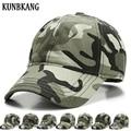 KUNBKANG Cotton Camo Baseball Cap For Men Snapback Hats Casual Dad Bone Camouflage Caps Army Tactical Cap Trucker Hat Casquette