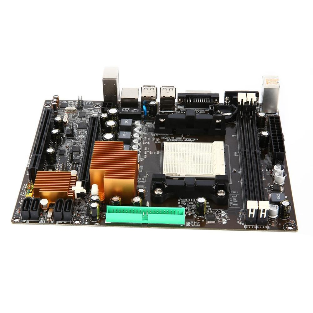 A78 AM3+ Computer Motherboard 5X Protection II Anti-surge USB 2.0 Data Transmission DIGI+ Digital Power Control