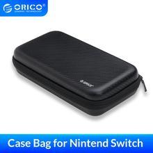 ORICO Storgae Bag for Switch USB 케이블 용 휴대용 핸드 헬드 케이스 전원 플러그 액세서리