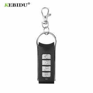 Image 2 - KEBIDU جهاز التحكم عن بعد 4 قناة الاستنساخ الكهربائية لبوابة باب المرآب السيارات المفاتيح اللاسلكية 433Mhz نسخة رمز عن بعد