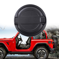 Car Fuel Filler Door Cover Gas Tank Cap For Jeep Wrangler JL 2018 Auto Accessories Replacement