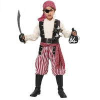 Halloween Christmas Gift Pirate Costumes Girls Boys Party Cosplay Costume for Children Kids Clothes Performance Kindergarten