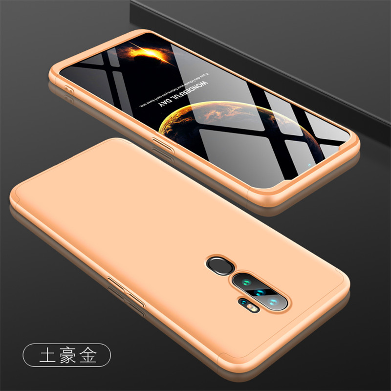 Oppo A5 2020 A11 A11X Case 360 Degree Full Protected Hard Cover Matte Case for Oppo A5 A3 A9 2020 A11 A11X CPH1931 Phone Bags image