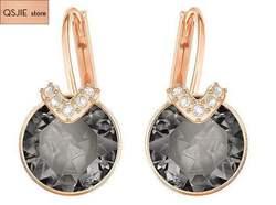 Alta qualidade swa simples nova orelha prego earrings5