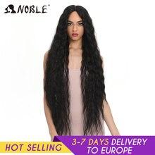 Asil sentetik dantel peruk siyah kadınlar için uzun kıvırcık saç 42 inç Cosplay sarışın Ombre dantel ön peruk sentetik dantel ön peruk