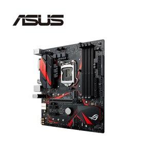 For Asus ROG STRIX B250G GAMING DDR4 LGA 1151 B250 Desktop Motherboard 64GB USB2.0 USB3.0 DVI HDMI motherboard free shipping