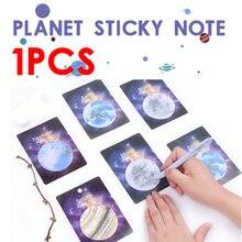 1 сумка/30 листов planet earth pluto mini notebook n times школьные
