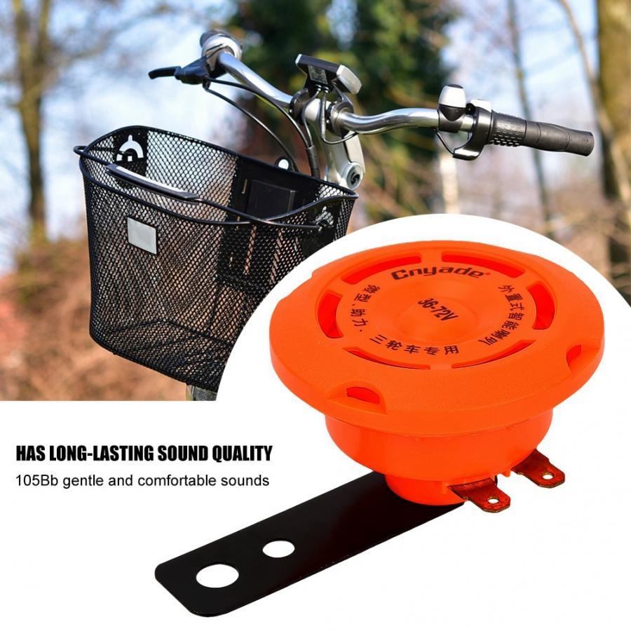 36V//48V//60V//72V Waterproof Smart Electronic Horn Ring Bell for Electric Bike !