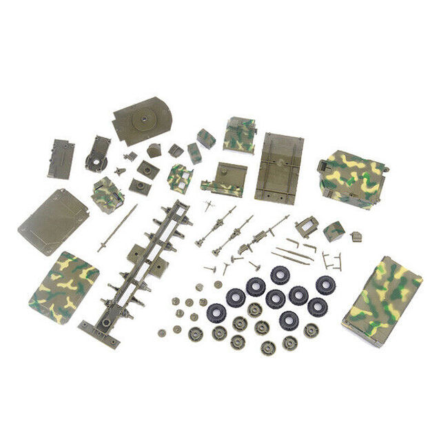 1/72 BATTLEField Russian china S-300 SA-10 air defense missile radar vehicle TombStone Radar carriage assembly Model 2