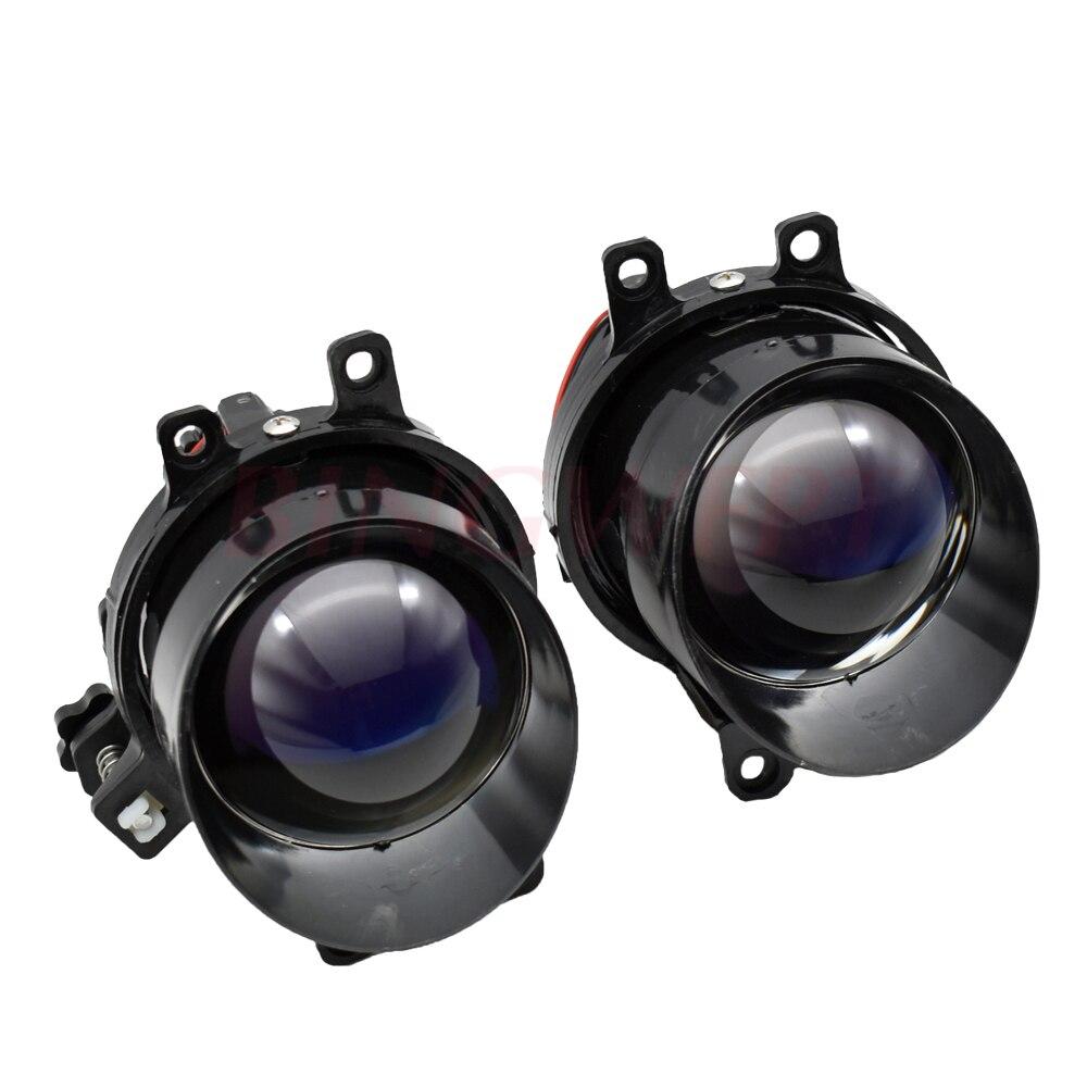 3.0'' Waterproof Bi-xenon Fog Lights Lens Lamps Hi/Lo H11 HID Xenon For T Oyota/Corolla/Camry/L Exus Cars Retrofit Replacement