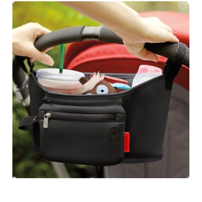 Amazon Hot Models Infant Cart Bag Multi-function Feeder Diaper Bag Storage Bag Hanging Bag