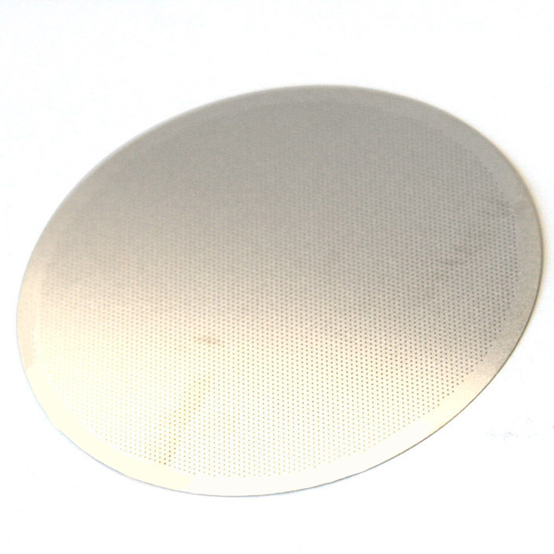 Stainless Reusable Metal Steel Filter Mesh For AeroPress Coffee Maker Accessory