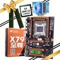 PC montage Rabatt HUANANZHI deluxe X79 LGA2011 gaming motherboard mit M.2 slot CPU Xeon E5 2690 C2 kühler RAM 16G (2*8G)