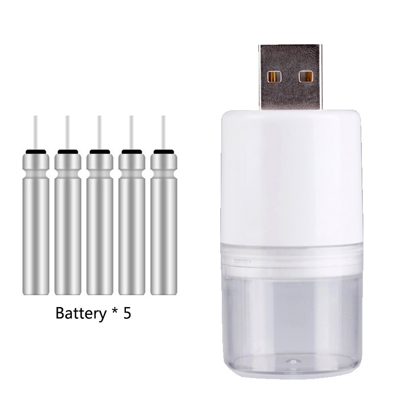 Small Size Fishing Float Rechargeable Battery CR425 USB Charger LED Fishing Float Accessory For Different Charger Devices