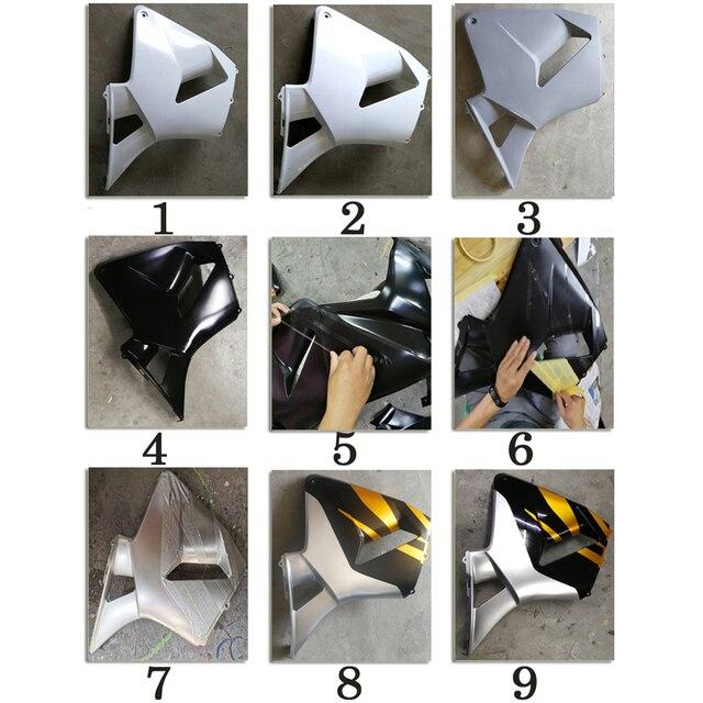 Phare de moto pour 2008-2010 ABS   Kit de panneaux de moteur, personnalisé bleu clair + cadeaux