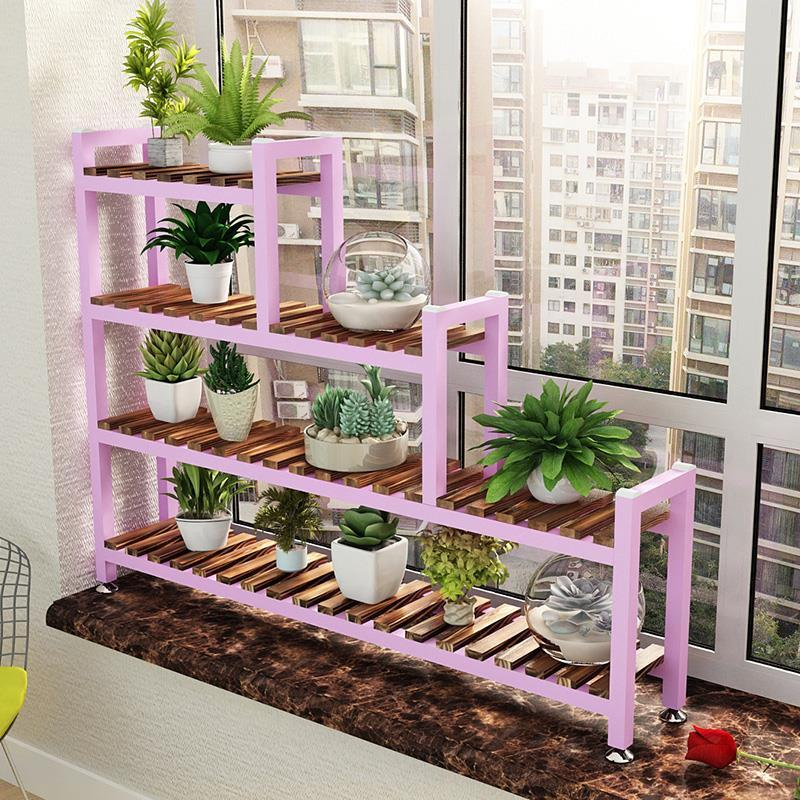 Etagere Plante Rak Bunga Garden Shelves For Indoor Stojaki Plant Rack Stojak Na Kwiaty Balcony Shelf Outdoor Flower Stand