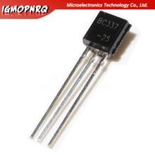 50pcs BC337-25 BC337 TO-92 Bipolar Transistors - BJT NPN 50Vcbo 45 Vceo 800mA 625mW Trans new original