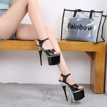 Women Sandals Shoes Steel Tube Dancing Striptease Walking Sh