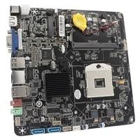 HM55 PGA988 Desktop PC Mainboard DDR3 SATA II Mini ITX Motherboard for Mini Host/HTPC/ Advertising Machine/Radio