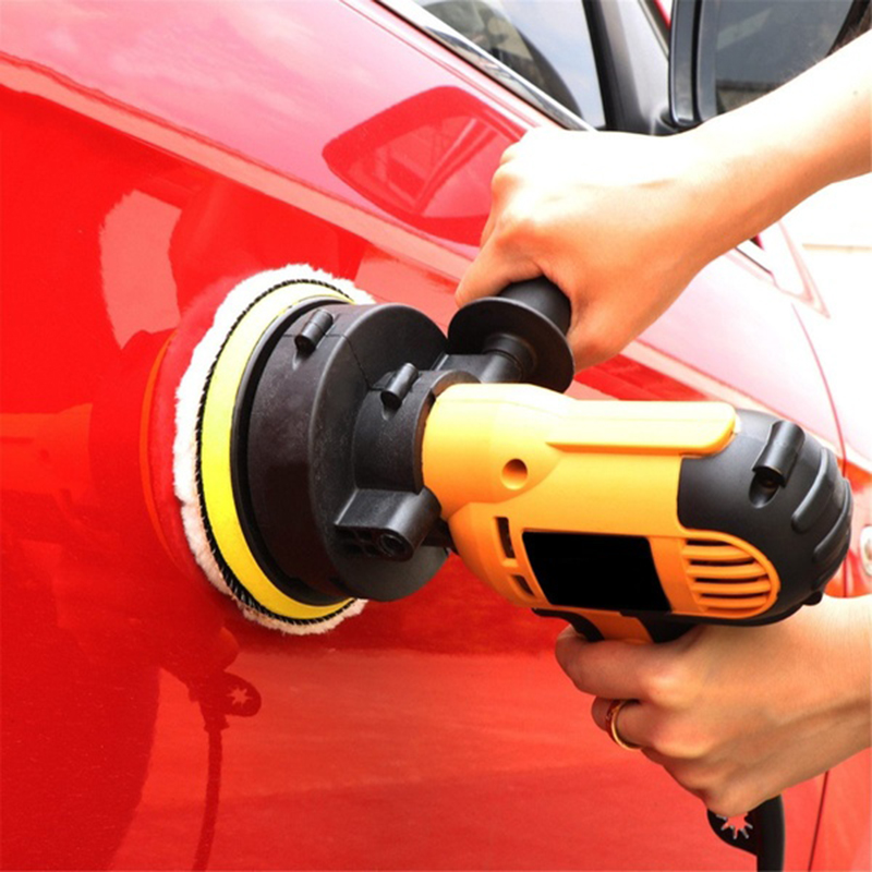Electric Car Polisher Machine 220V Auto Polishing Machine Adjustable Speed Sanding Waxing Tools Car Accessories Powewr Tool PTCS