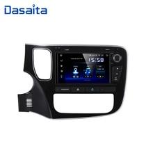 "Dasaita 8 ""אנדרואיד 10 אוקטה Core רכב GPS עבור מיצובישי הנכרי 2014 DVD נגן סטריאו אוטומטי רדיו ראש יחידה מולטימדיה וידאו"