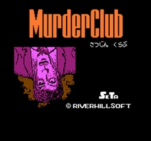 Murder Club 60 Pins Englisch Version Spiel Patrone für 8 Bit 60pin Spiel Konsole