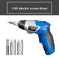 DR D02 Electric Screw Driver 3.6V/1300mA Lithium Rechargeable Mini Screwdriver Home Multifunctional Screwdriver 220V 5W 6.5Nm