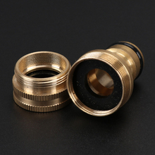 Basin Faucet Easy Install Garden Supplies Tap Connector Solid Brass Swivel Hose Joint Universal Irrigation Practical Home