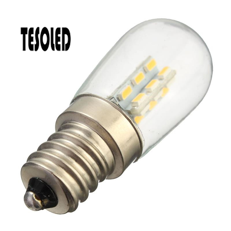 E12 24LED 3014SMD LED Bulb Fridge Energy Saving Refrigerator Light 3W AC110/220v Spotlight Bulbs Freezer White/ Warm White 8.30