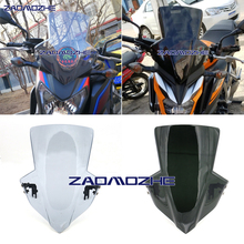 Motorcycle WindScreen Windshield Viser VIsor new style Fits For HONDA CB650F 2014 2015 2016 2017 2018 Double Bubble 14-18