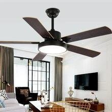 Скандинавский потолочный вентилятор 42 дюйма для столовой гостиной