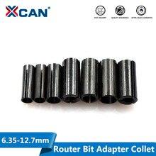 XCAN 1 قطعة محول كوليت عرقوب نك راوتر أداة محولات حامل 8 مللي متر تغيير إلى 6 مللي متر/8 6.35/ 9.5 6.35/ 10 8/12 6 8 10/12.7 6 6.35 مللي متر