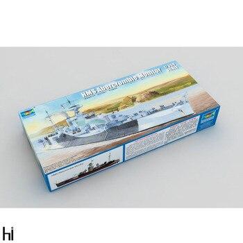 Trumpeter 1/350 05336 HMS Abercrombie Monitor conjunto de barco militar juguete de...