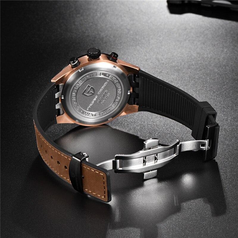 Image 5 - PAGANI DESIGN 2019 mens watches Top Brand Luxury Waterproof Quartz Watch men Sport Military Men's Wrist Watch Relogio Masculino-in Quartz Watches from Watches