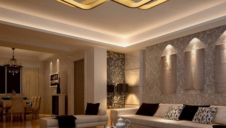 H80aa3df5fbee41588474c69cc062a76b4 Touch Remote Dimming Modern plafon LED Ceiling Lamp Fixture Aluminum Dining Living Room Bedroom Lights Lustre Lamparas De Techo