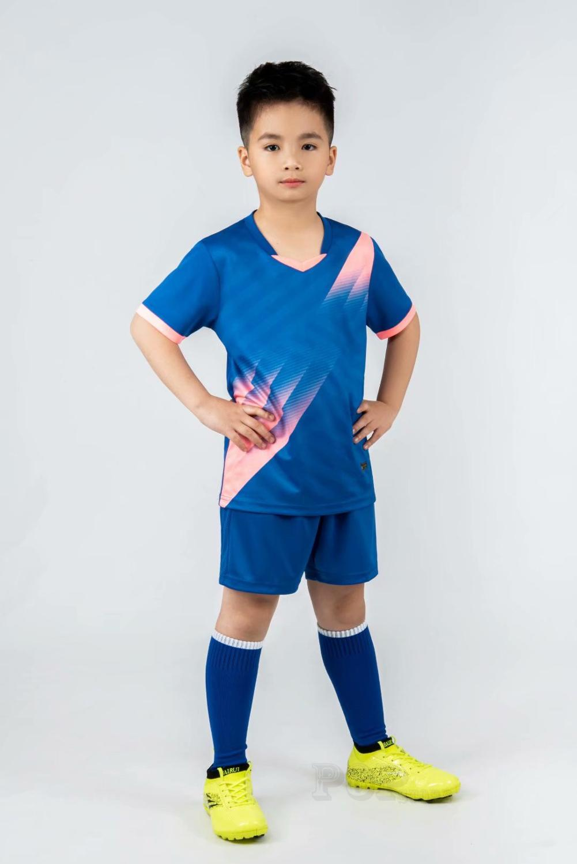 Kids football Uniforms boys girl soccer Jerseys Custom child Soccer Jersey Set Sportswear t-shirt sports suit new style 15