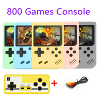 Consola de videojuegos Retro 800 en 1, miniconsola portátil de bolsillo, reproductor portátil para niños, regalo