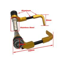 Motorcycle Stainless Steel Proguard System Brake Levers Protector For Honda MSX125 CB R 650R CB125R XADV X ADV 750 X11 ST1300