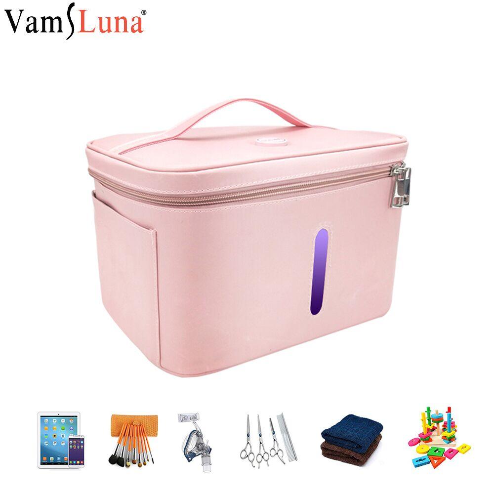 УФ очиститель, легкая Портативная сумка для стерилизации нижнего белья, дезинфекция, изоляция, удаление запаха, ультрафиолет для ногтей