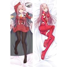 Sexy Darling in the FranXX Zero Two Anime Body Pillow Dakimakura Cover Bed Smooth Huggable Waifu